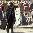 Kurt Russell, Joanna Pacula, and Dana Wheeler-Nicholson in Tombstone (1993)