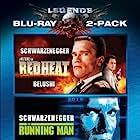 Arnold Schwarzenegger and Jim Belushi in The Running Man (1987)