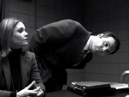 Vincent D'Onofrio and Kathryn Erbe in Law & Order: Criminal Intent (2001)