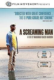Un homme qui crie Poster