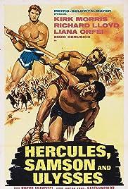 Hercules, Samson & Ulysses(1963) Poster - Movie Forum, Cast, Reviews