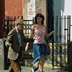 Director Val Waxman (WOODY ALLEN) tells his girlfriend Lori (DEBRA MESSING) about his latest film project in Woody Allen's latest contemporary comedy HOLLYWOOD ENDING, being distributed domestically by DreamWorks.