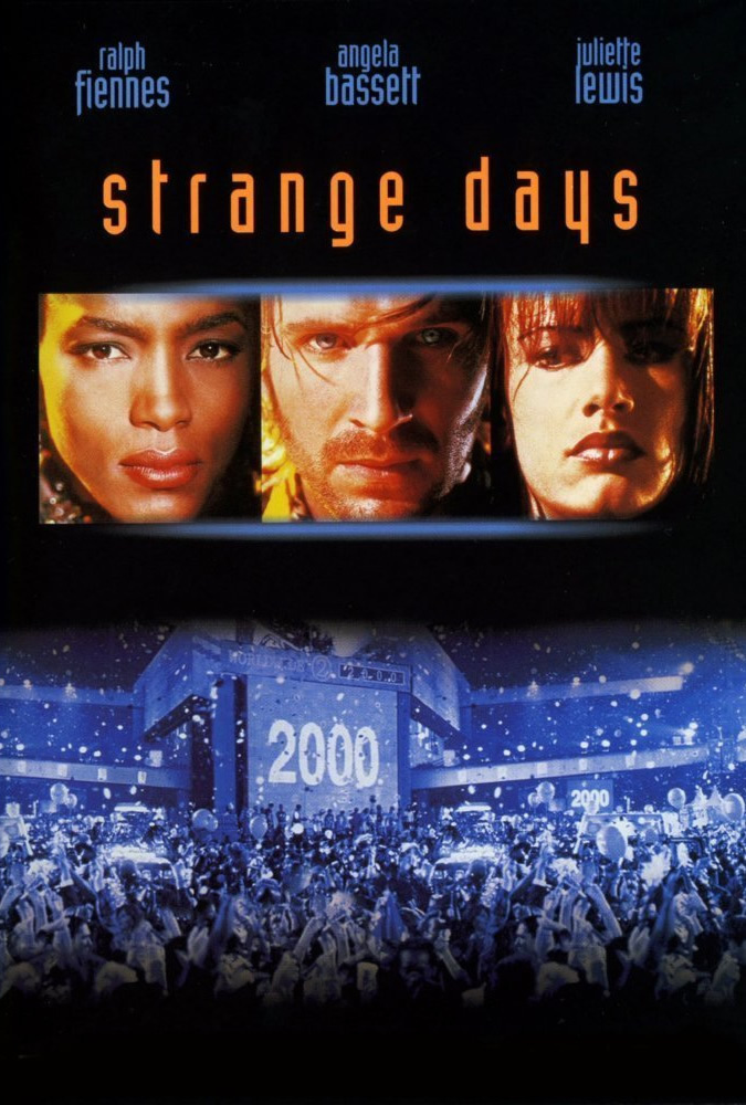 Ralph Fiennes, Angela Bassett, and Juliette Lewis in Strange Days (1995)
