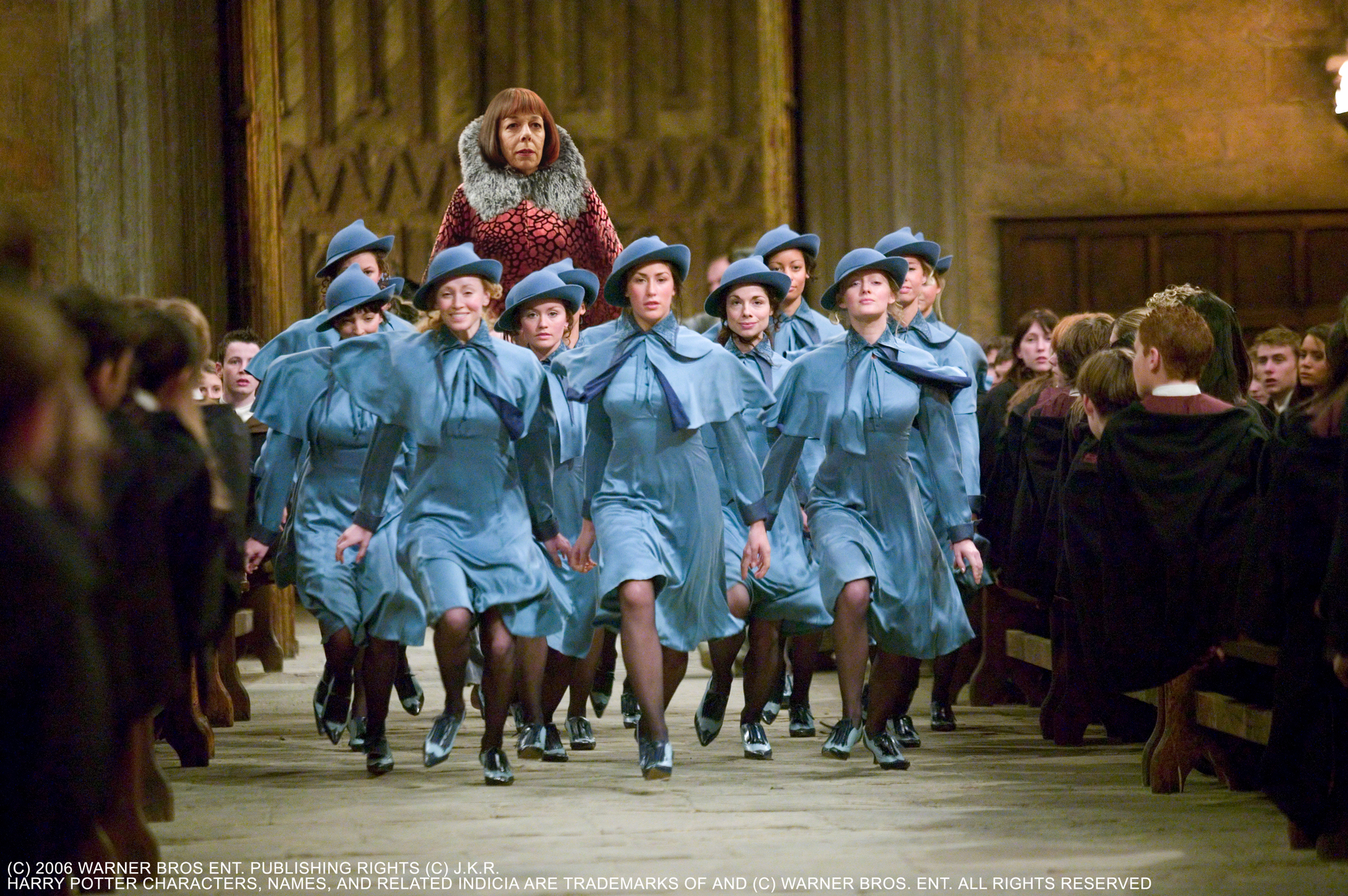 Frances de la Tour, Lucy Casson, Roxanne Ricketts, Simpson McKendry, Funda Önal, Janine Craig, Lucy-Anne Brooks, and Alexandra Craig in Harry Potter and the Goblet of Fire (2005)