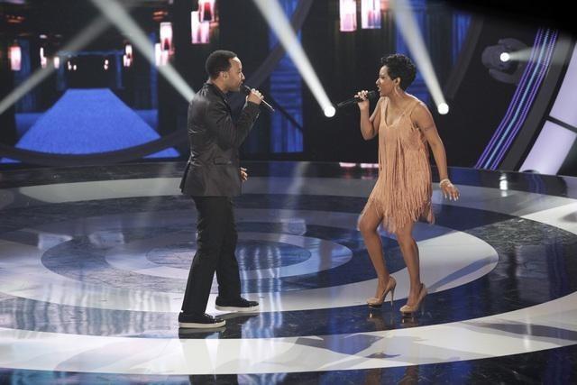 John Legend and Bridget Carrington in Duets (2012)