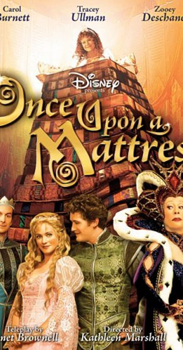 The Wonderful World Of Disney Once Upon A Mattress Tv Episode