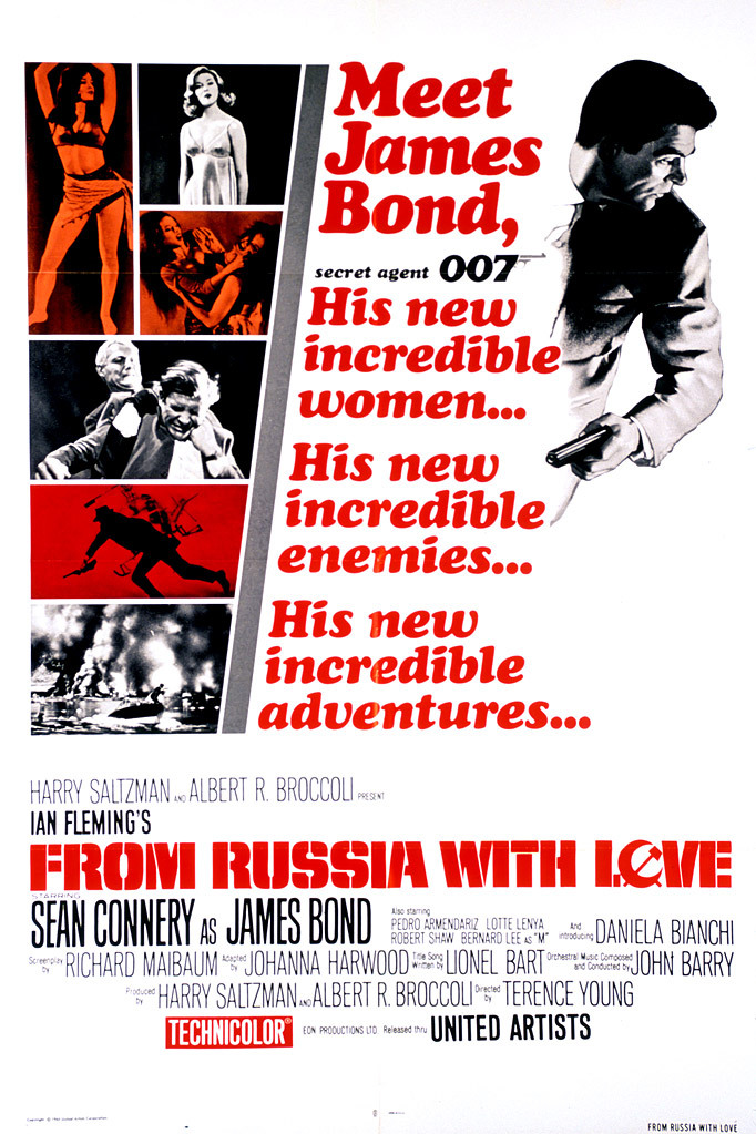 IŠ RUSIJOS SU MEILE (1963) / FROM RUSSIA WITH LOVE