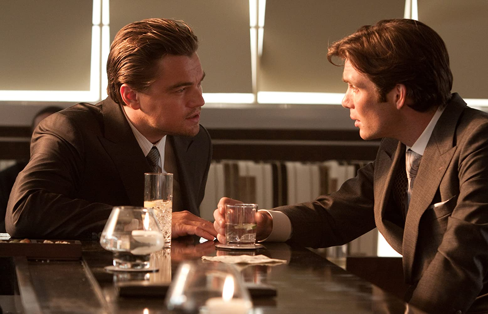 Leonardo DiCaprio and Cillian Murphy in Inception (2010)