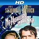 Marlene Dietrich and James Stewart in No Highway (1951)