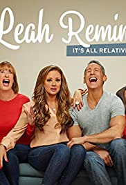 Leah Remini: It's All Relative Poster - TV Show Forum, Cast, Reviews