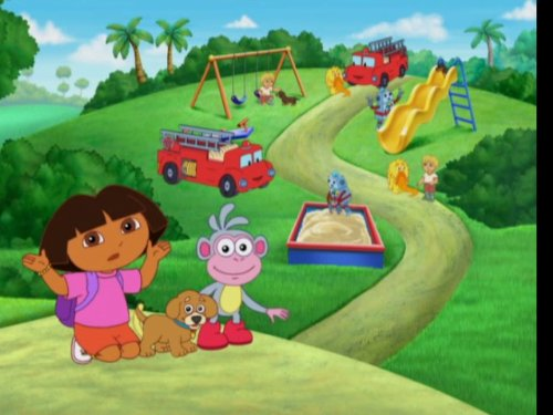 Dora The Explorer Bark Bark To Play Park Tv Episode 2009 Imdb