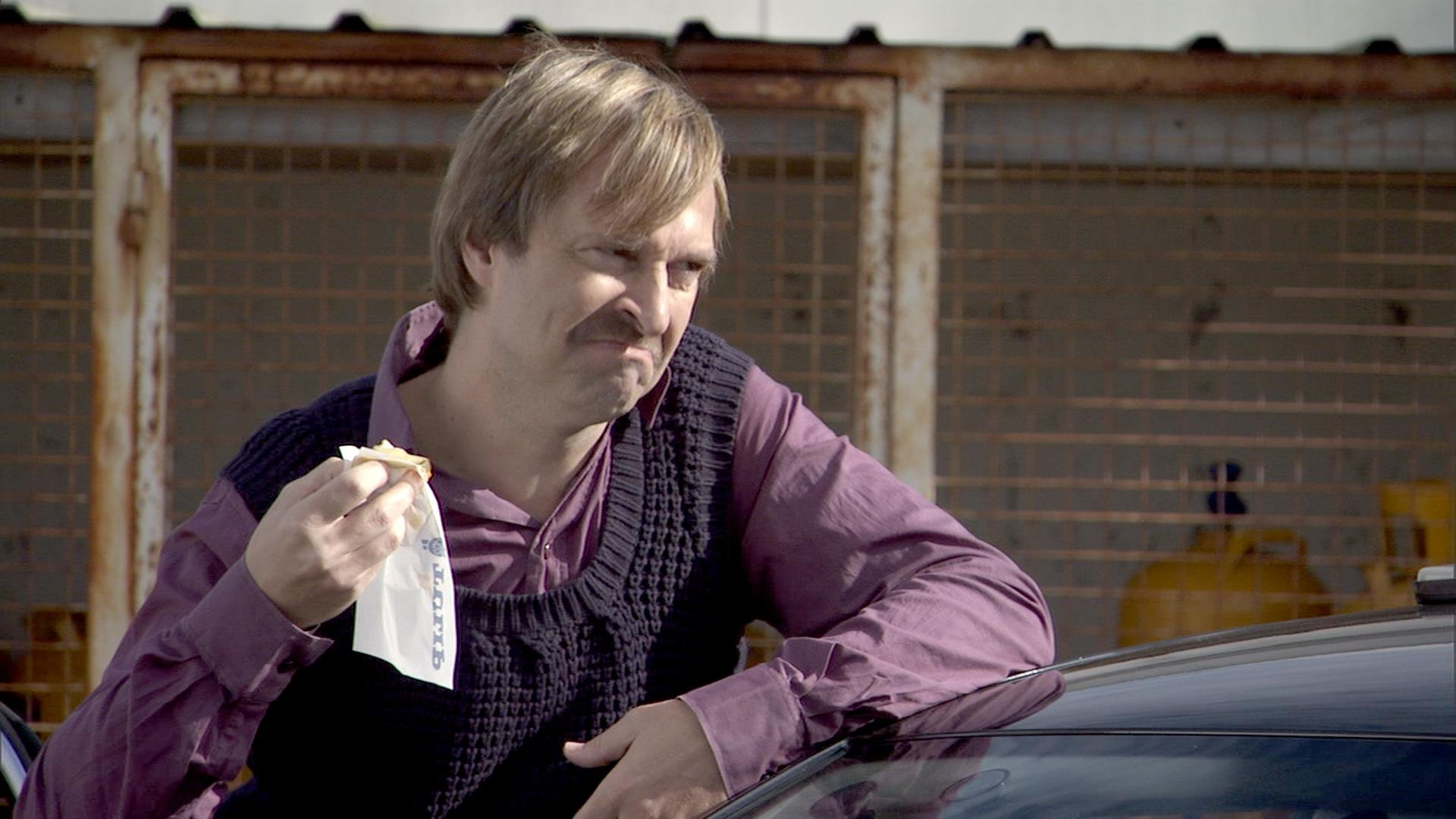 Martin Brygmann in Blå mænd (2008)