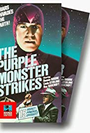 The Purple Monster Strikes Poster