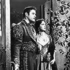 Jolene Brand and Guy Williams in Zorro (1957)