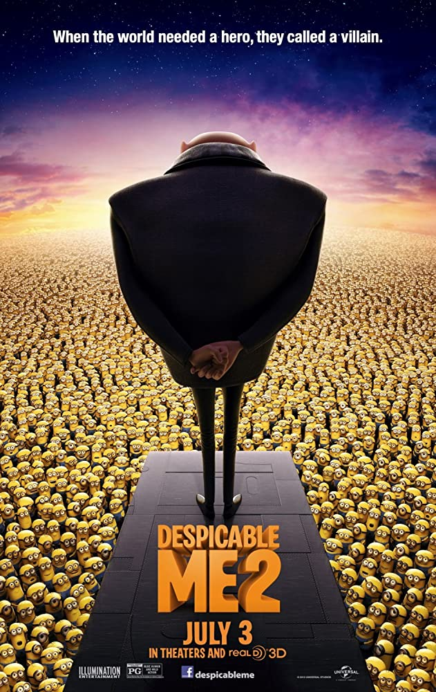 Despicable Me 2 (2013) Hindi Dubbed
