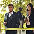Robin Tunney and Simon Baker in The Mentalist (2008)
