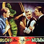 Arthur Byron, Bramwell Fletcher, and Edward Van Sloan in The Mummy (1932)