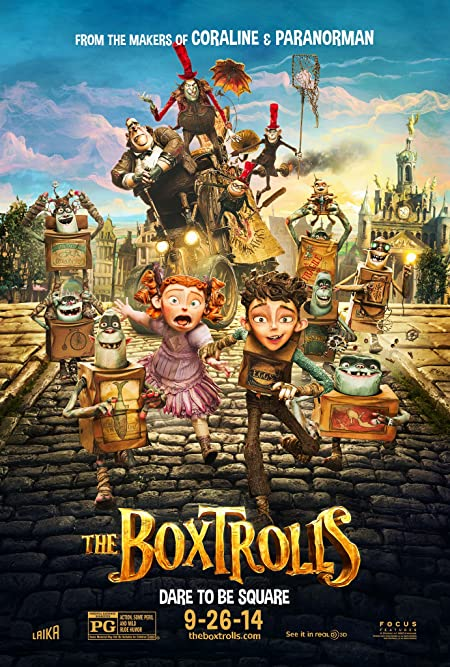 [PG] The Boxtrolls (2014) Dual Audio Blu-Ray - 480P | 720P - x264 - 300MB | 850MB - Download & Watch Online  Movie Poster - mlsbd