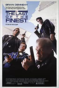 Bill Paxton, Brian Dennehy, Jeff Fahey, and Joe Pantoliano in The Last of the Finest (1990)