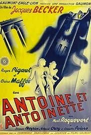 Antoine et Antoinette Poster