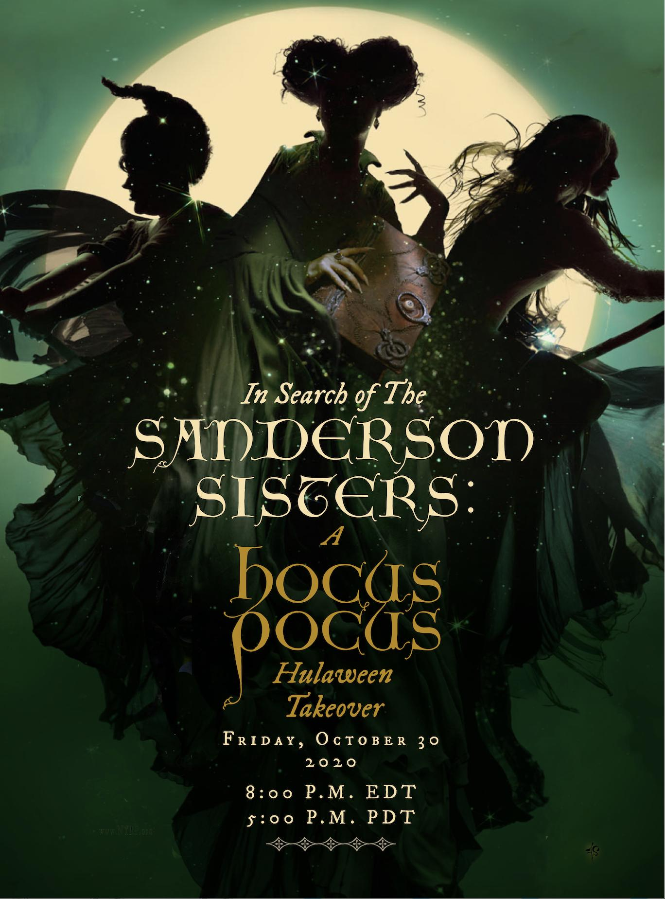 In Search of the Sanderson Sisters: A Hocus Pocus Hulaween Takeover hd on soap2day