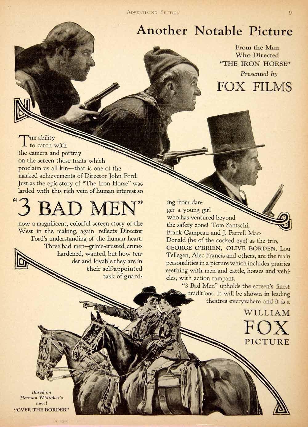 3 Bad Men (1926) - Photo Gallery - IMDb