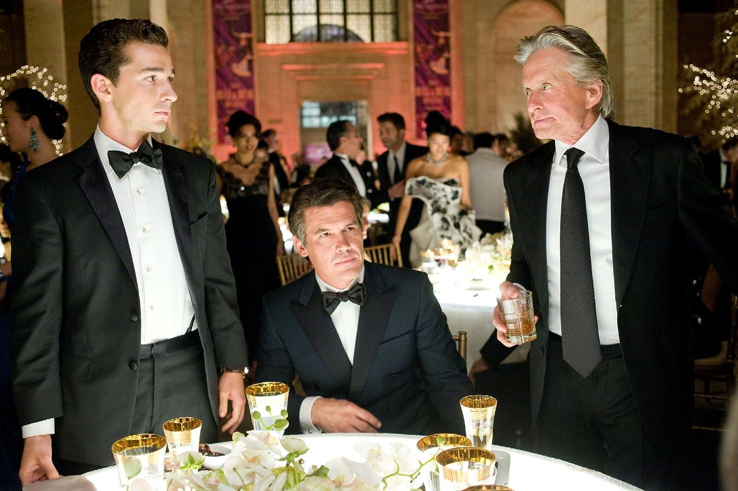 Michael Douglas, Josh Brolin, and Shia LaBeouf in Wall Street: Money Never Sleeps (2010)
