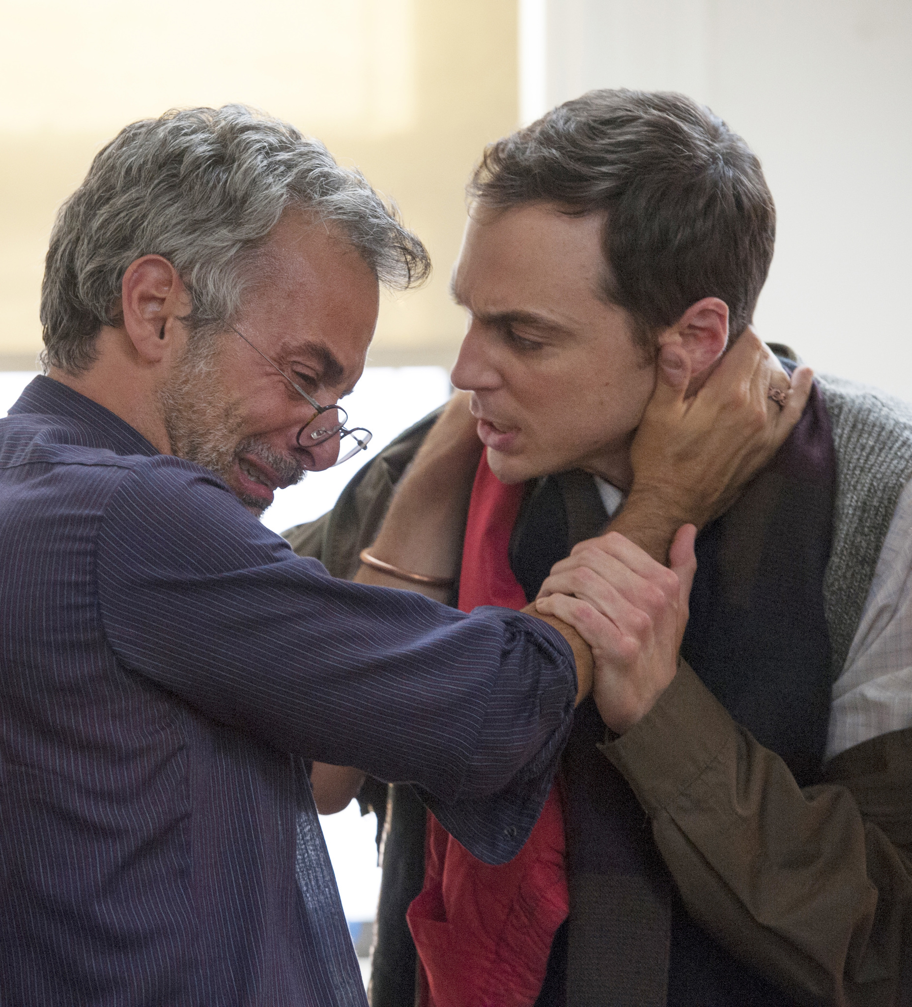 Joe Mantello and Jim Parsons in The Normal Heart (2014)