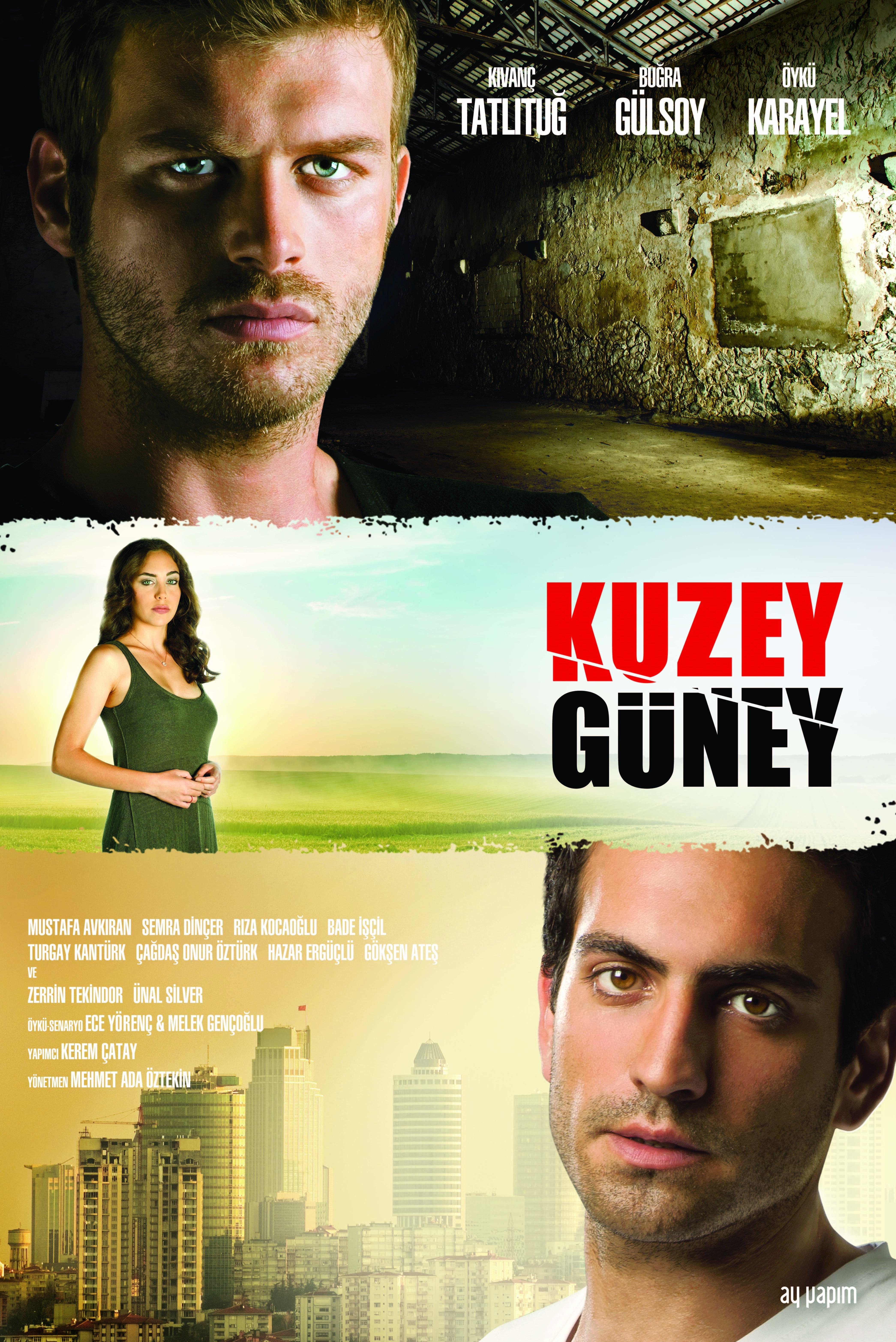 Kivanç Tatlitug, Bugra Gülsoy, and Öykü Karayel in Kuzey Güney (2011)
