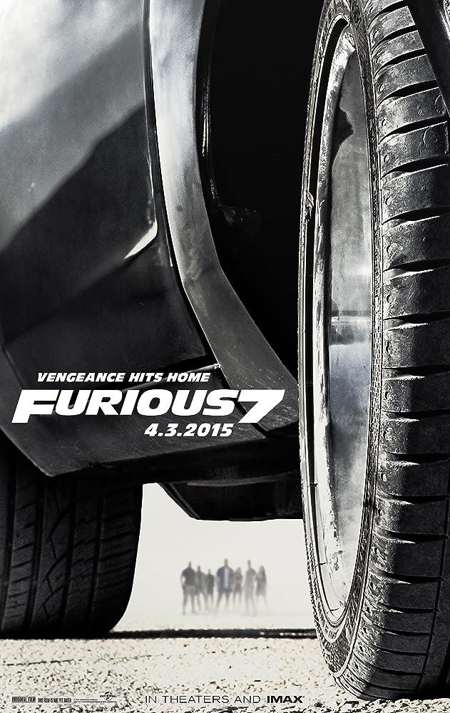 Poster film Furious 7