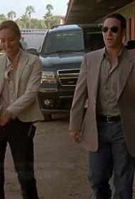 Rob Morrow and Aya Sumika in Numb3rs (2005)