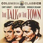 Cary Grant, Jean Arthur, and Ronald Colman in The Talk of the Town (1942)
