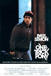 One-Trick Pony (1980) Poster - Movie Forum, Cast, Reviews