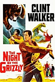 The Night of the Grizzly Poster