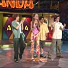 Amanda Bynes, Drake Bell, Josh Peck, and Nancy Sullivan in The Amanda Show (1999)
