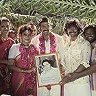 Dushara Vijayan, Arya, and Kalaiyarasan in Sarpatta Parambarai (2021)