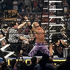 Adam Copeland and Terry Gerin in WrestleMania X-Seven (2001)