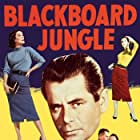 Glenn Ford, Anne Francis, and Margaret Hayes in Blackboard Jungle (1955)