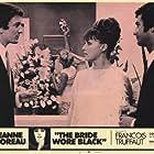 Jean-Claude Brialy, Jeanne Moreau, and Claude Rich in La mariée était en noir (1968)