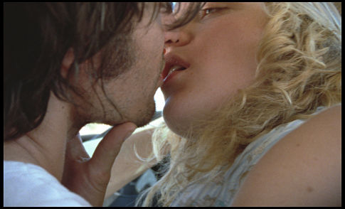 Vincent Gallo and Chloë Sevigny in The Brown Bunny (2003)