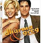 Jenna Elfman and Thomas Gibson in Dharma & Greg (1997)