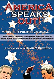 America Speaks Out Poster
