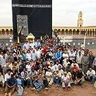 Chems-Eddine Zinoune, Hamid Herraf, and Hicham Hajji in Journey to Mecca (2009)