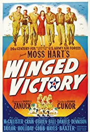 Winged Victory (1944) Poster - Movie Forum, Cast, Reviews
