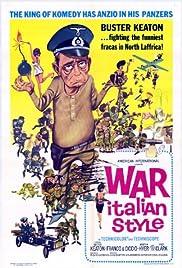 War Italian Style Poster