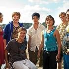 Manuel Steitz, Nick Romeo Reimann, Fabian Halbig, Leonie Tepe, Robin Walter, Javidan Imani, and David Hürten in Vorstadtkrokodile 3 (2011)