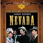 Robert Mitchum, Anne Jeffreys, and Alan Ward in Nevada (1944)