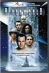Emily Lloyd, Cameron Daddo, Karen Holness, and Brad Johnson in Riverworld (2003)
