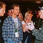 Ron Howard, Matthew McConaughey, and Woody Harrelson in Edtv (1999)