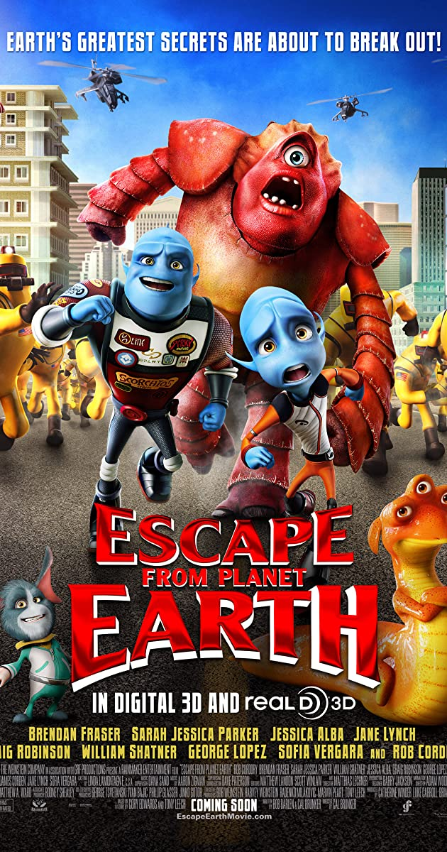 Escape from Planet Earth (2013) - IMDb
